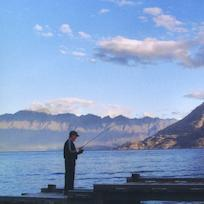 Lake Wakatipu fishing