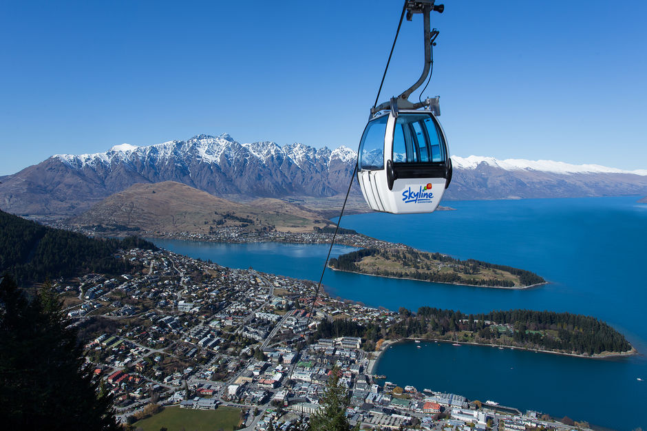 Enjoy an iconic Queenstown experience and take a Gondola up Bob's Peak, high above Queenstown to the Skyline complex.