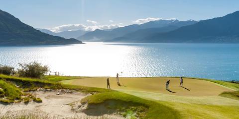 Golf holiday itineraries   New Zealand