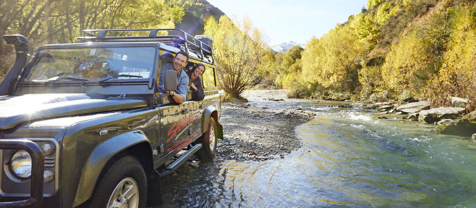 There are lots of places around Queenstown for off-road adventures.