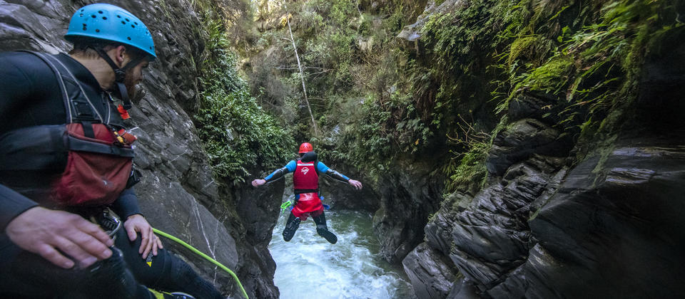 Queenstown Canyoning