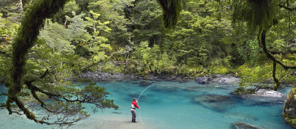 Fly Fishing, Glenorchy