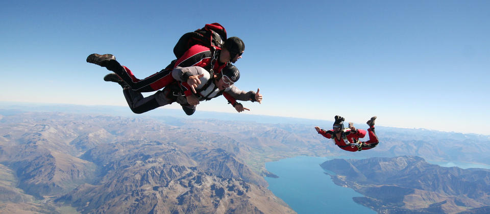 The ultimate combination of adrenalin rush and amazing views