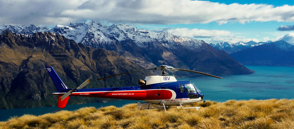 Take to the skies for the best views of Queenstown and the Southern Alps