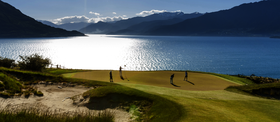 Scenic golf, Queenstown