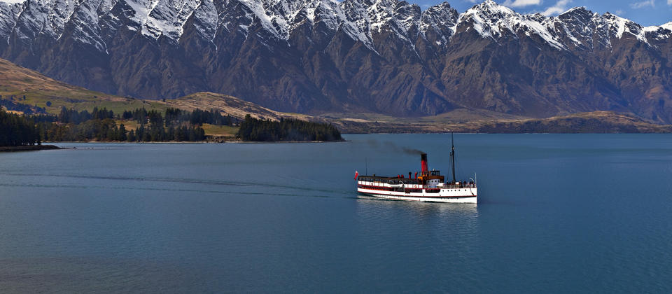 Cruising on the TSS Earnslaw