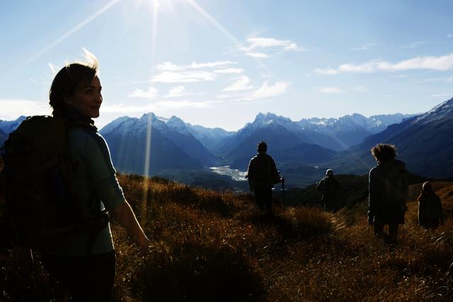 Klettersteig Queenstown : Wandern & bergsteigen neuseeland