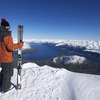 You'll feel on top of the world at the Remarkables ski-field near Queenstown.