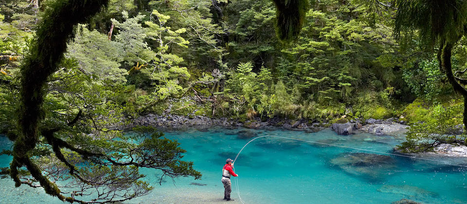 Local knowledge can make all the difference when you're trout fishing in the Glenorchy region.