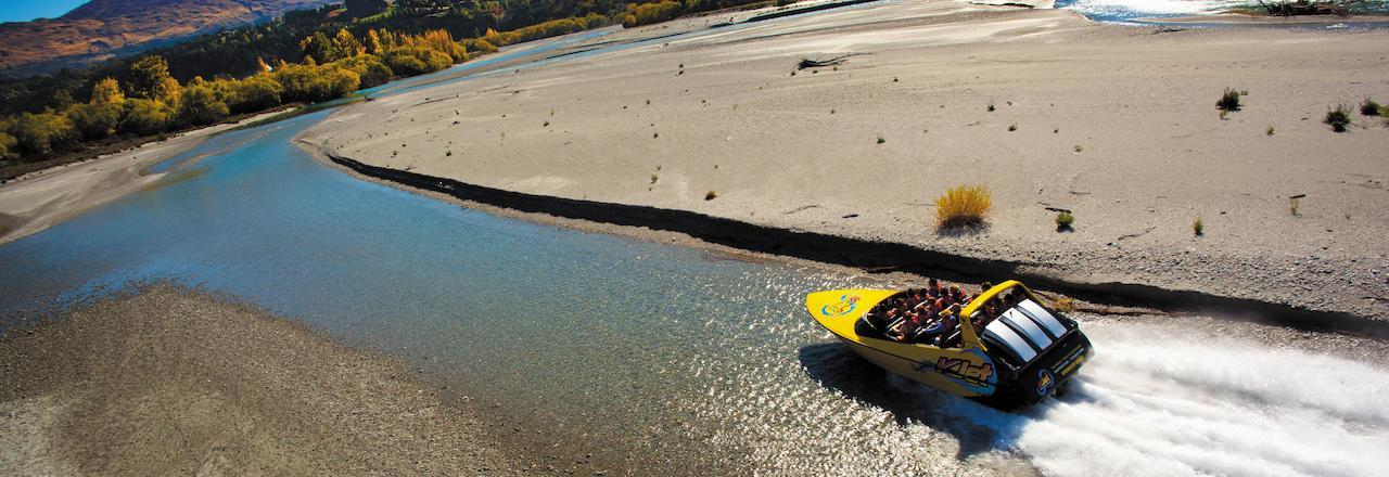 Jet boating in New Zealand   Things to see and do in New Zealand