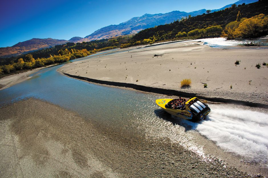 Enjoy thrills, spins and exhilaration across three waterways - Lake Wakatipu, Kawarau River and Shotover River - with KJet Queenstown.