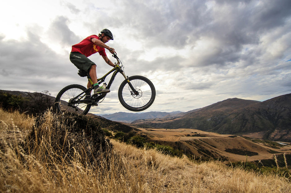 A private bike park riddled with more than 40km of pro-built trails, many of which take you high with amazing valley views.