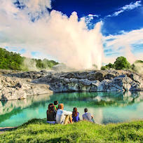 The Pohutu Geyser