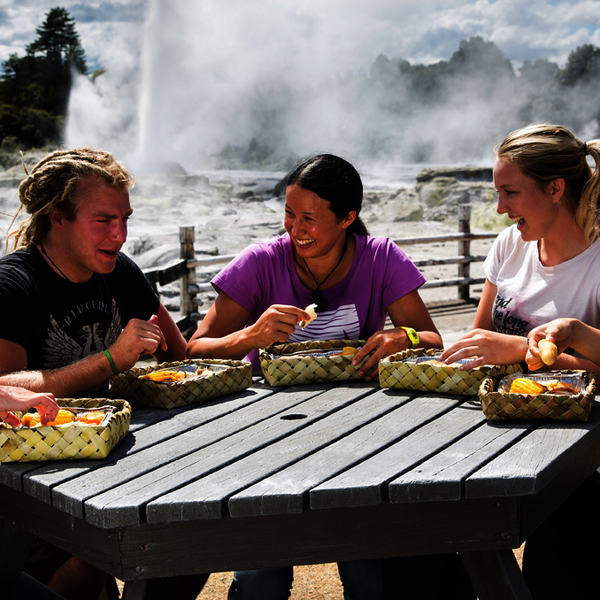 Traditional Maori dining with a twist
