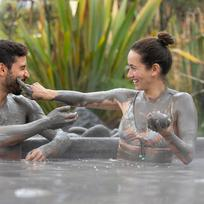 Relax in the mud Spa, Hells Gate