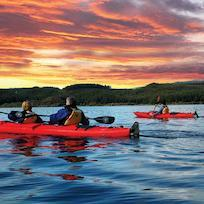 Kayaking on Lake Rotoiti