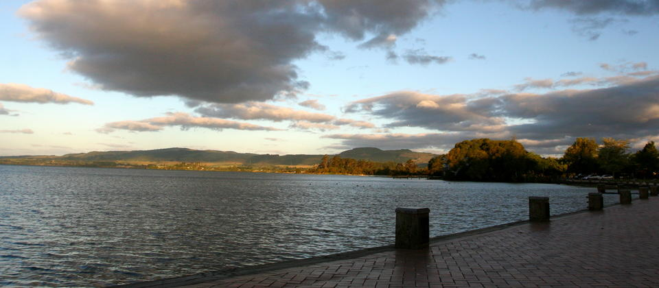You'll feel reinvigorated after completing this walk along lake shores