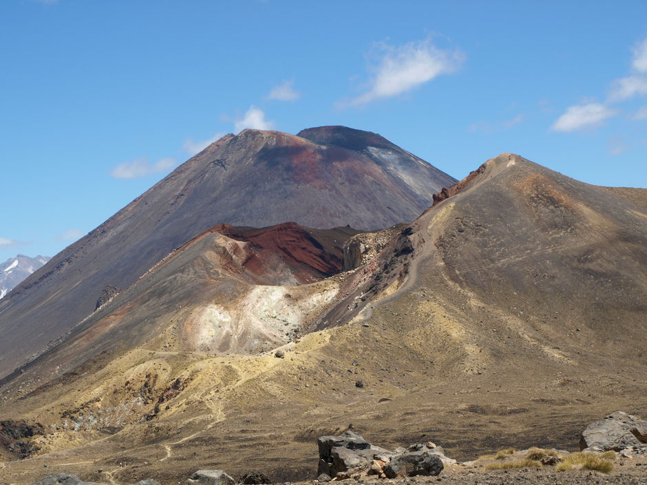 Mount Doom from Lord of the Rings (Mt Ngauruhoe)
