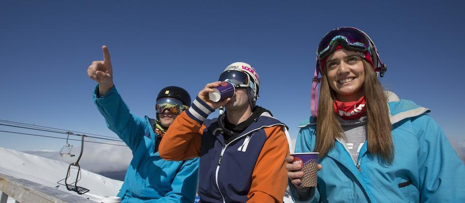 Apres ski at Mt Ruapehu
