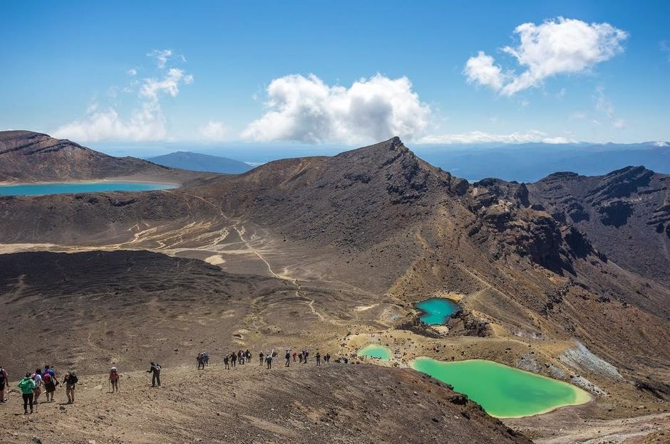 Crossing a stark and spectacular volcanic terrain, Tongariro Alpine Crossing is one of the best day walks in the world.