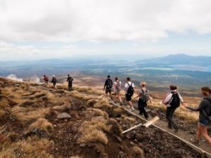 Hiking the Tongariro Crossing