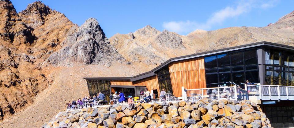 Knoll Ridge Cafe, Ruapehu