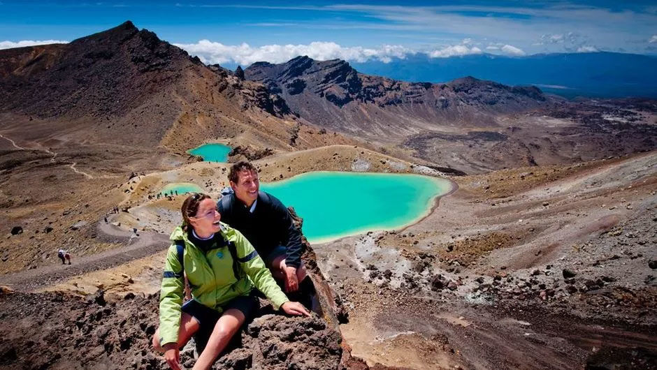 This amazing walk encircles Mount Ngauruhoe, an active volcano in Tongariro National Park. You'll see craters, explosion pits, lava flows and more.