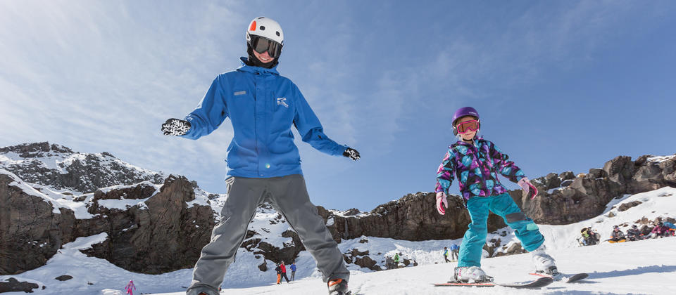Enjoy hours of snow fun at New Zealand's premiere beginners ski area.