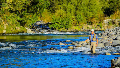 Fly fishing, Tongariro River