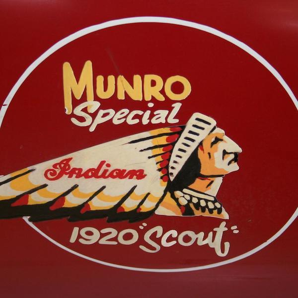 Burt Munro's Indian motorcycle