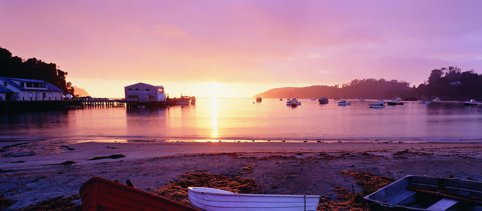 Enjoy a simpler, slower kind of life while you visit Oban on Stewart Island.