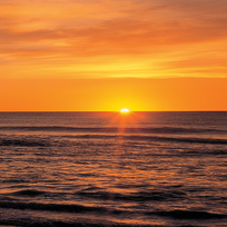 Sunrise at Wainui Beach, Gisborne