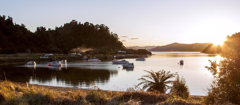 Home Bay, Lake Waikaremoana