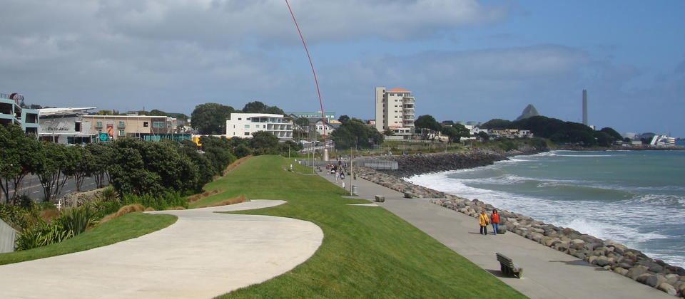 New Plymouth Coastal Walkway.
