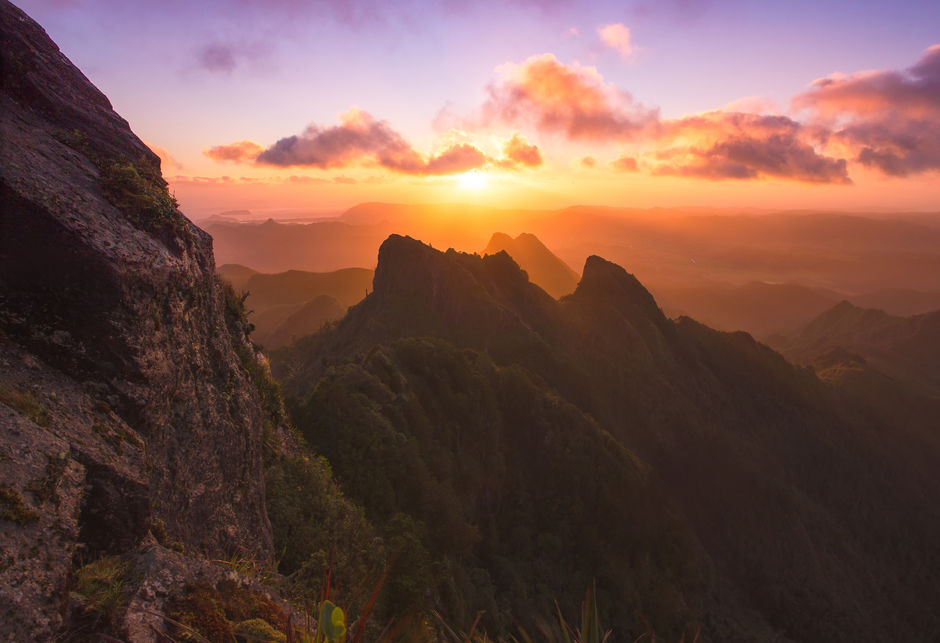 Sunrise from the Pinnacles