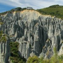 The otherworldly Putangirua Pinnacles featured in The Lord of the Rings trilogy.