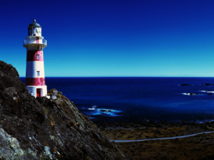 Lighthouse at Cape Palliser
