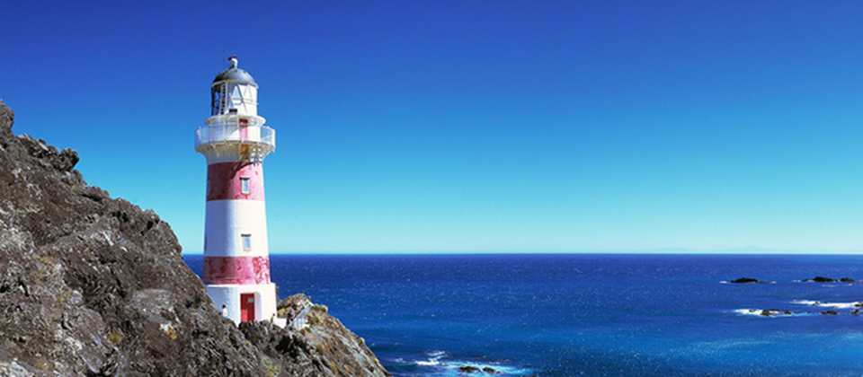 Lighthouse at Cape Palliser, Wairarapa