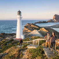 A walk up to the Castlepoint Lighthouse is a must when visiting the Wairarapa