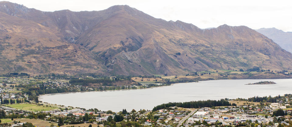 Wanaka from Mt Iron