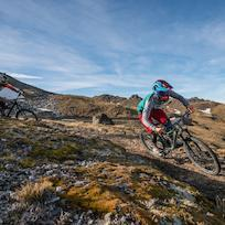 Biking in Cardrona Bike Park