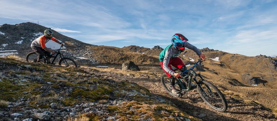 There is plenty rides to explore not only for hardcore downhill riders, but also for recreational riders and families.