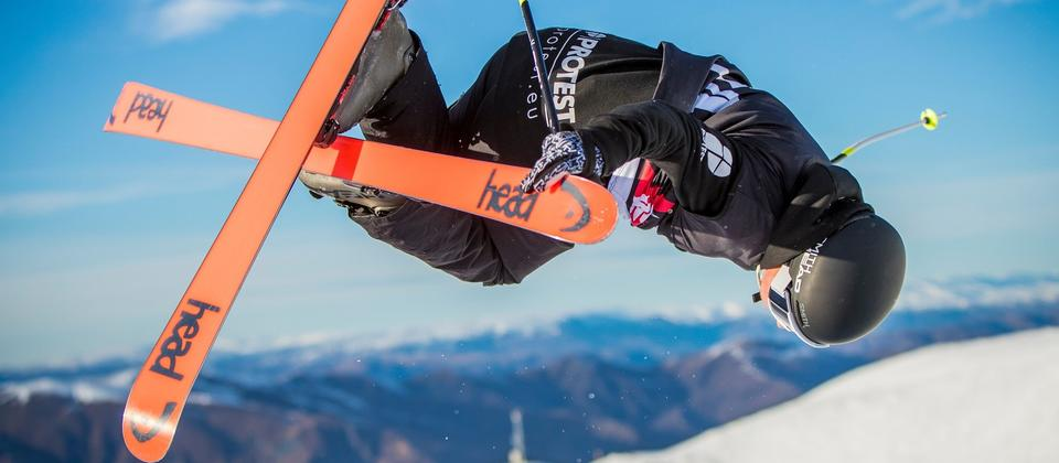 Freeskiing at Cardrona Alpine Resort, Wanaka
