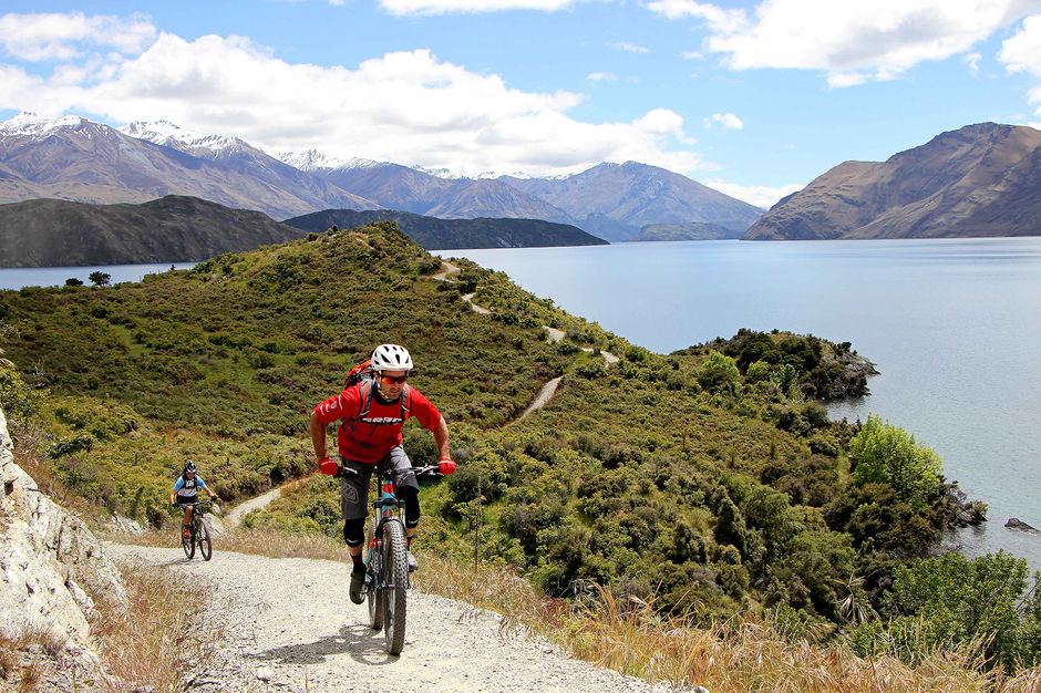 Saddle up and be ready to take in epic views of Lake Wanaka on these mainly easy tracks.