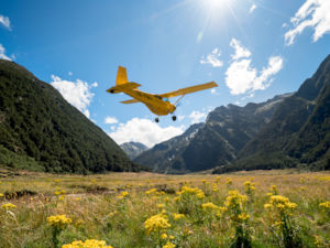 Classic flights in Siberia Valley