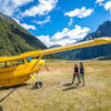 Scenic flight, Makarora