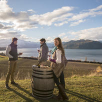 Sample an artisan pinot noir while you absorb the alpine scenery in Wanaka.