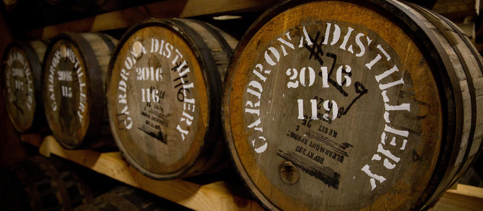 Cardrona Distillery's signature whisky will be called The Cardrona but visitors will have to wait for that because there will be a 10-year, 15-year, 1