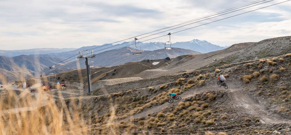 Cardrona Bike Park offers a variety of terrain for all levels of rider including the highest lift accessed biking trails in New Zealand.