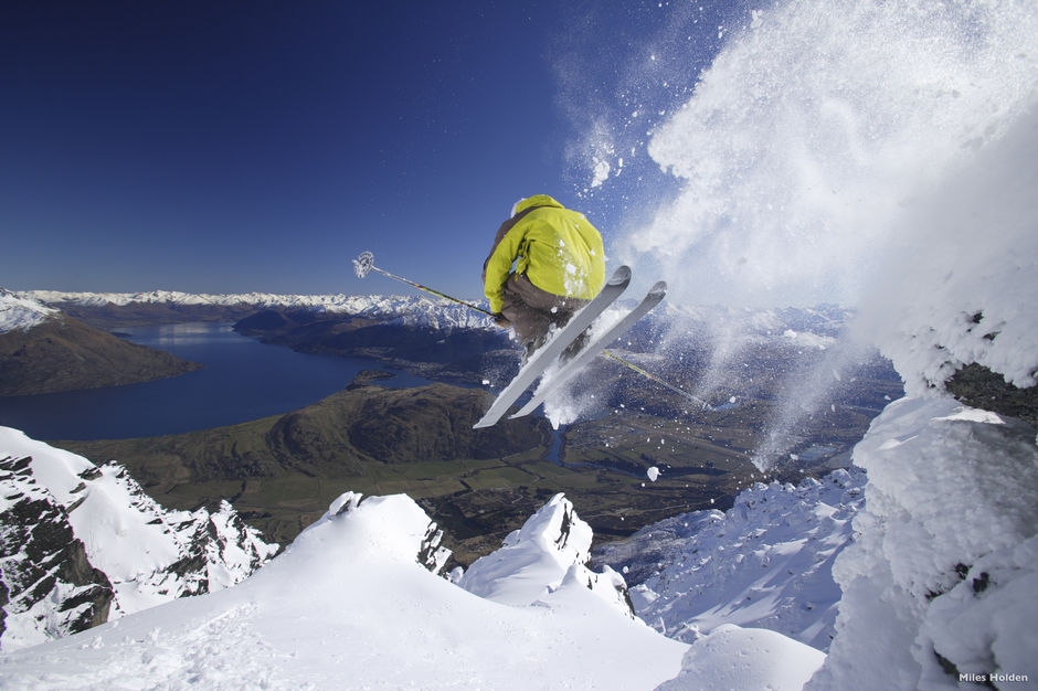 Get some air on The Remarkables surrounded by unforgettable views